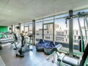 The fitness center and/or fitness facilities at Novotel Köln City