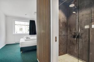 A bathroom at Sleepcph