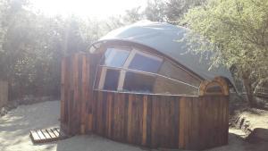 Biosfera Lodge during the winter