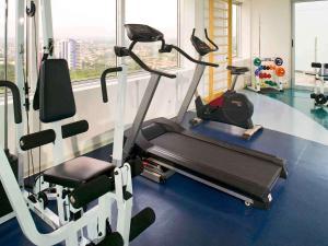 Gimnasio o instalaciones de fitness de Mercure Manaus