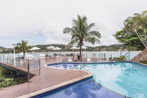 The swimming pool at or near Hotel Ferradura Private