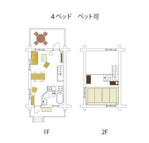 The floor plan of Fiore Shima
