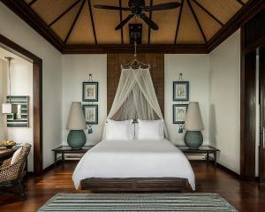 Ein Bett oder Betten in einem Zimmer der Unterkunft Four Seasons Resort Koh Samui - SHA Plus