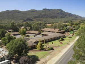 A bird's-eye view of Country Plaza Halls Gap