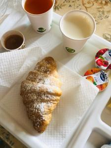 Breakfast options available to guests at B&B la reggia