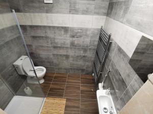 Koupelna v ubytování Penzion Loučka Bystřice