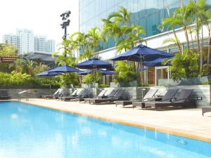 The swimming pool at or near Novotel Citygate Hong Kong