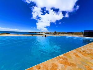 The swimming pool at or near Hotel Calipau Sahara