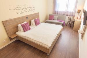 Кровать или кровати в номере B&B Hotel Peter und Paul
