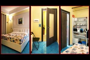 A bed or beds in a room at Torre del Giglio Bed & Breakfast