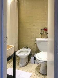 A bathroom at Departamento Boutique Las Leñas