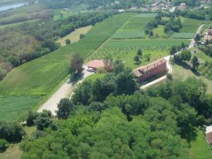 Vista aerea di Agriturismo Casa Rossa Ai Colli