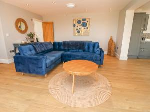 A seating area at Highfield cottage