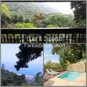 Uma vista da piscina em Casa Verde ou nos arredores