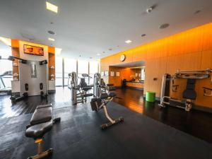 The fitness centre and/or fitness facilities at Sofitel Dubai Downtown