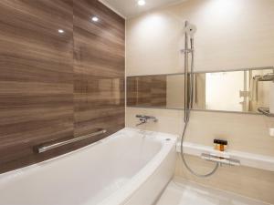 A bathroom at Sapporo Grand Hotel