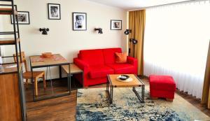 Гостиная зона в Park Hotel Sellin