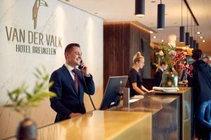 The lobby or reception area at Van der Valk Hotel Breukelen