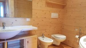 Un baño de Appartamenti Passo Giau