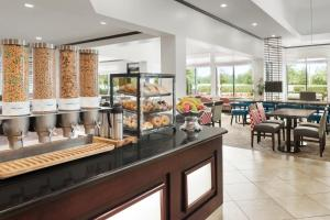 A restaurant or other place to eat at Hilton Garden Inn South Bend