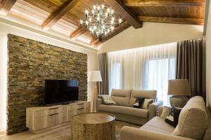 Zona de estar de Hotel Montarto