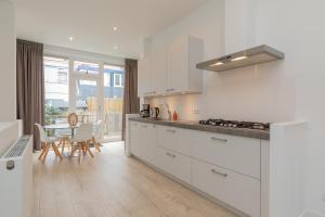 Cuisine ou kitchenette dans l'établissement Zandvoort Village Apartments