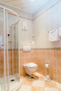 A bathroom at Hotel Pendl