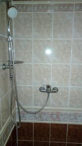 Koupelna v ubytování Kavárna Lucie s ubytováním