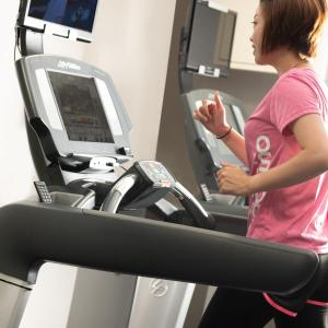 The fitness center and/or fitness facilities at ANA Crowne Plaza Osaka, an IHG Hotel