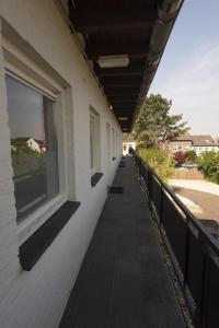 Een balkon of terras bij Hermes Appartementen