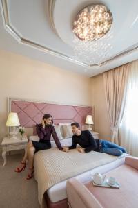 عائلة تقيم في Qafqaz Riverside Hotel