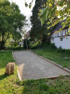 Een tuin van Bretzel & Cacahuet