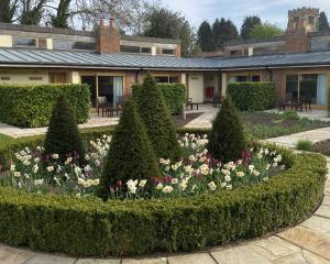 A garden outside The Carpenters Arms