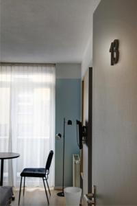 A bathroom at Hotel Duinlust