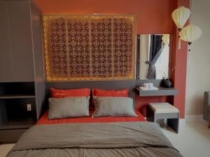 A bed or beds in a room at 54 Homestay