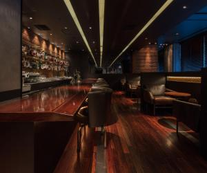 The lounge or bar area at Marunouchi Hotel