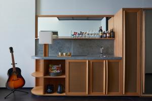 Ace Hotel Kyoto廚房或簡易廚房