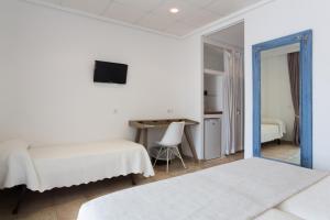 Letto o letti in una camera di Hotel Bahía