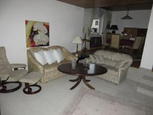 A seating area at Entire house, quiet city location, garden, parking
