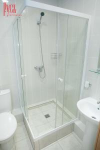 Ванная комната в Гостиница Русь