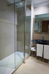 A bathroom at THotel Lamezia