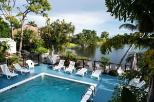 A view of the pool at Marco Island Lakeside Inn or nearby