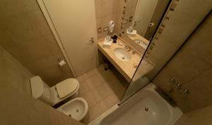 A bathroom at Rochester Calafate