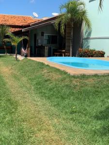 The swimming pool at or near CASA de bonito