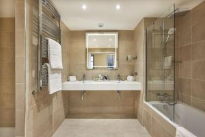 A bathroom at NH Collection Marseille