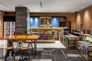 A restaurant or other place to eat at Artyzen Habitat Hongqiao Shanghai