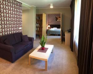 The lobby or reception area at Mäetaguse Manor Hotel & Spa