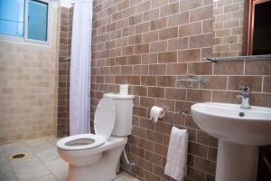 A bathroom at Ocean Villa Heights