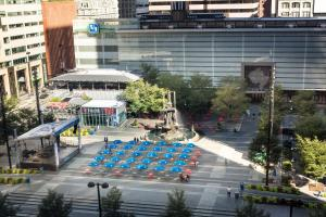 A view of the pool at The Westin Cincinnati or nearby
