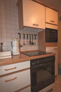 Küche/Küchenzeile in der Unterkunft Pension Barbara